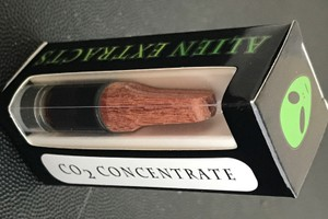 Alien Extracts 85% CO2 Cartridge - Indica image