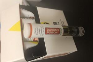 Durban Poison Oil Cartridge  image