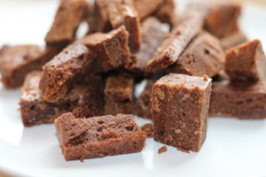 01- (Bite Size)- Brownie Bites ( 35-40mg) (per bag)  image