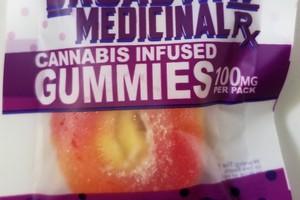 100mg Gummies Indica image