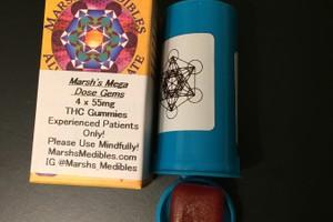 220 MG Marsh's Megadons Medibles Gummy Pack image