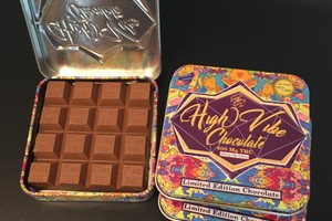 400 MG High Vibes Hazelnut Chocolate Bar (25 mg x 16 pieces) image
