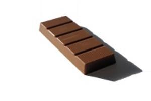 Cookies and Cream Chocolate Bar image