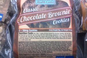 Chocolate Brownies 100mg image