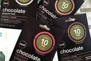 Chocolove Chocolate Squares 10mg - 10mg image