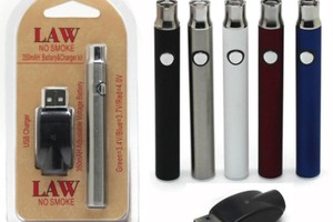 Adjustable temperature batteries/pens with charger  image