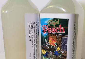 150mg Monstah Lemonade- Peach image