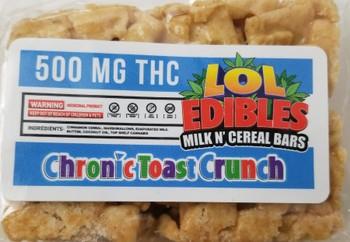 500mg Chronic Toast Crunch Cereal Bar image