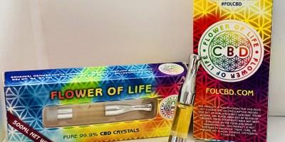 Flower of Life CBD Vape Cartridge