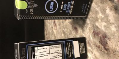 Ignite Premium CBD Disposable Pen - Apple Berry