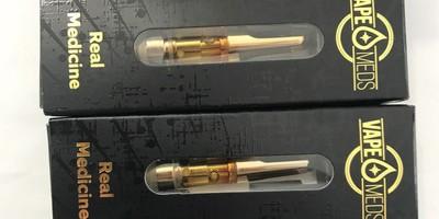 Vape Meds Full Gram Vape Cartridges