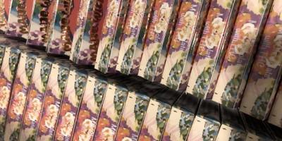 400 MG High Vibes Belgian Milk Chocolate Bar (25 mg x 16 pieces)