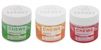 Sour Raspberry Chews: THC (10-Pack)
