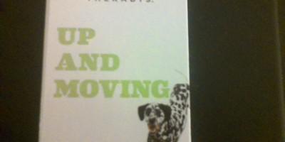 Large Dog Up & Moving CBD Dog treats 5pack